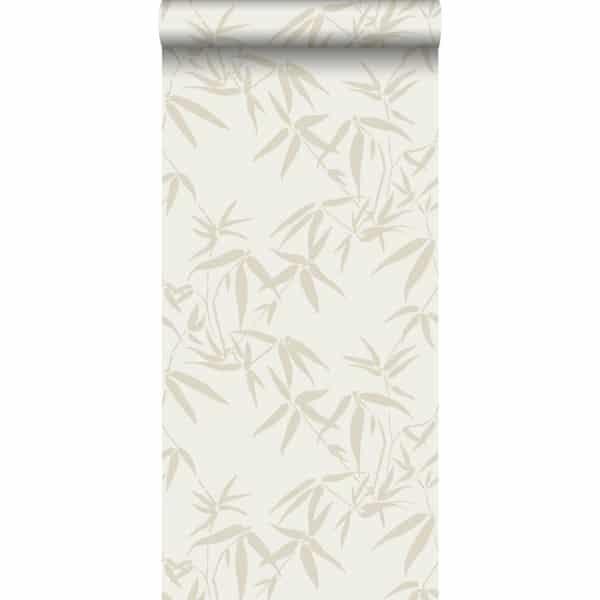 Behang bamboe beige van origin