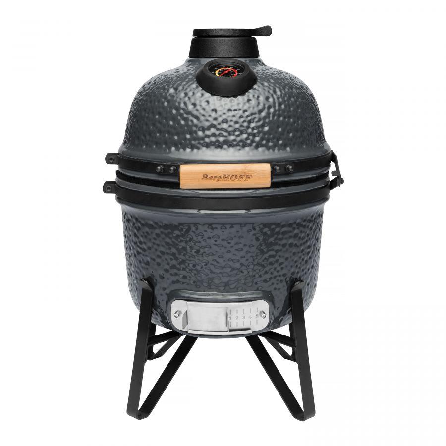 Keramische barbecue grijs van berghoff