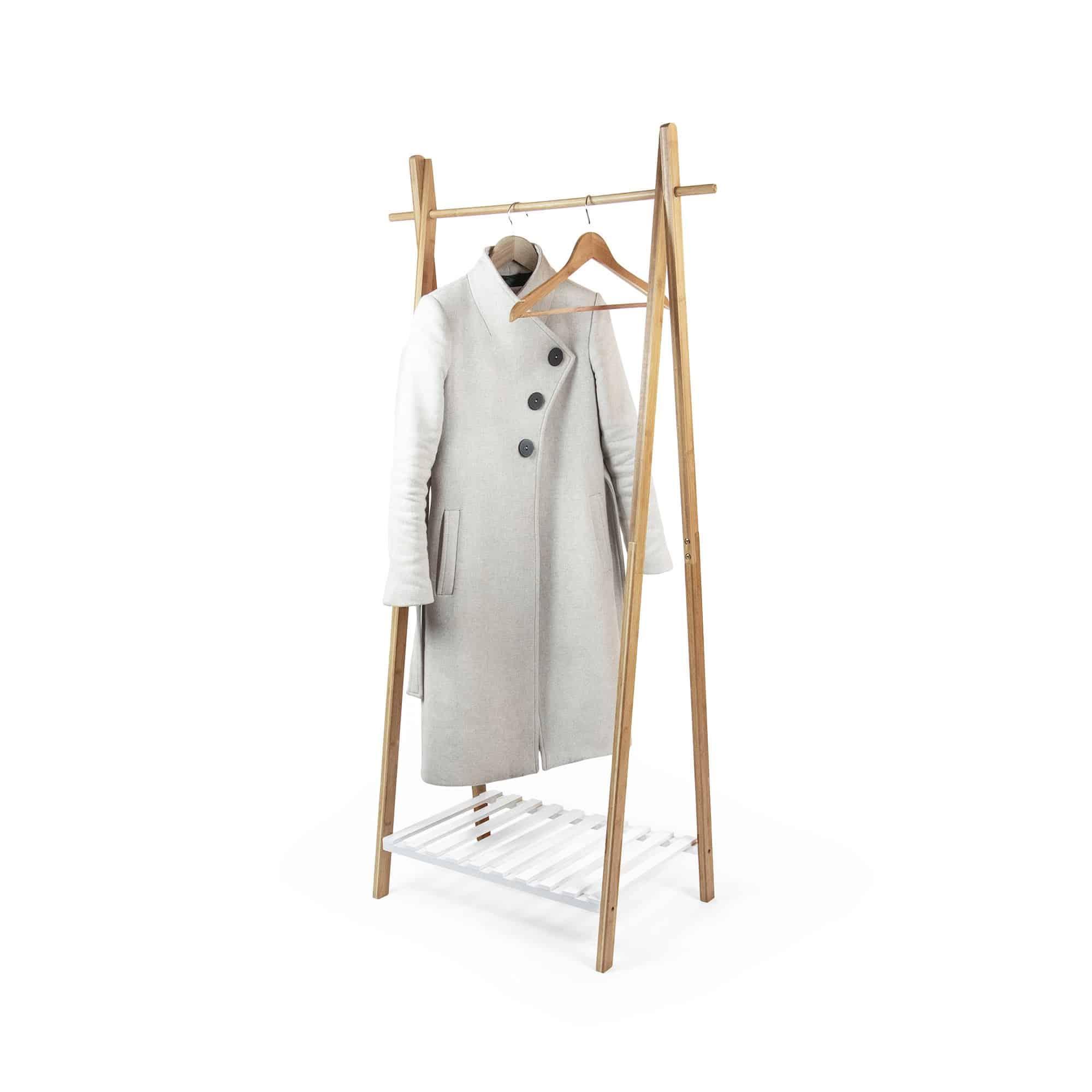 Compactor nagano bamboe kledingrek