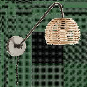 Bamboe wandlamp van madam stoltz