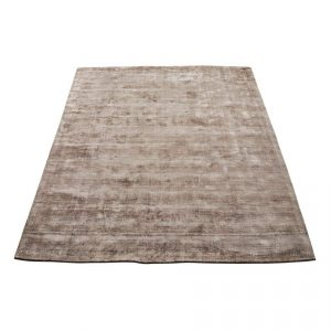 Bamboo vloerkleed karma nougat van massimo