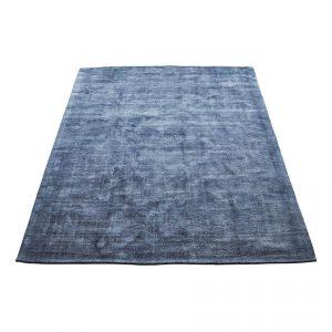 Bamboo vloerkleed washed blue van massimo