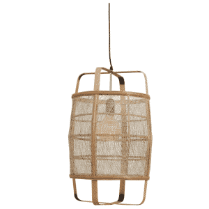Bamboe hanglamp flinn van mica decorations