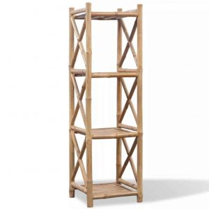 Bamboe rek vier lagen van vidaxl