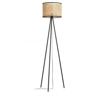 Bamboe vloerlamp isa naturel van de kwantum