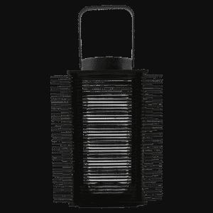 Bamboe lantaarn asi zwart van house doctor