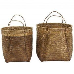 Bamboe manden balie naturel van house doctor