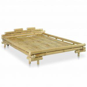 Bamboe bedrame 140x200 cm van vidaxl