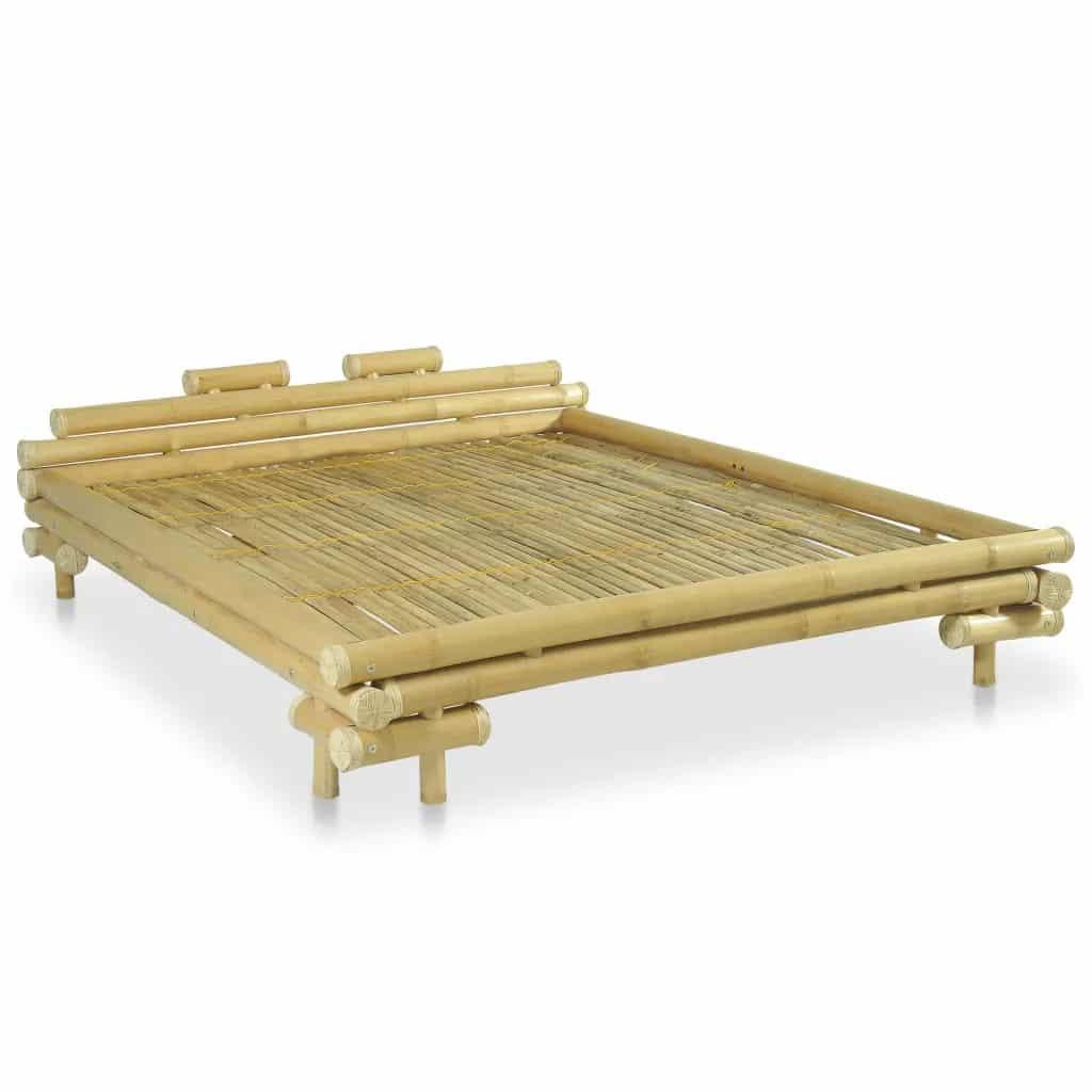 Bamboe bedframe naturel 160x200 cm van vidaxl
