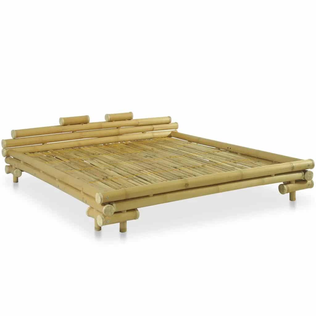 Bamboe bedframe naturel 180x200 cm van vidaxl