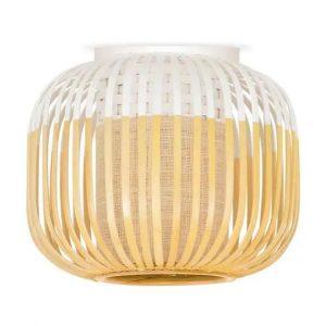 Bamboe plafondlamp light xs wit van Forestier