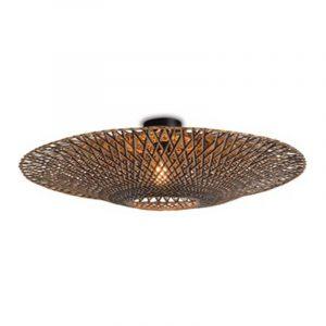 Bamboe plafondlamp bali large van Good&mojo