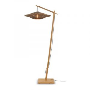 Bamboe vloerlamp bali van Good&Mojo
