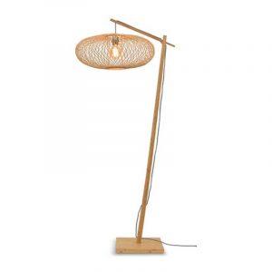Bamboe vloerlamp cango ellips van Good&Mojo