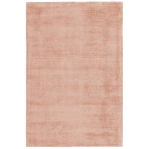 Handgeweven luxueus bamboe vloerkleed maori roze 120x170 cm