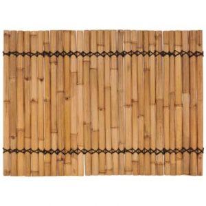 Bamboe schuttingpaneel 170x125 cm van vidaxl