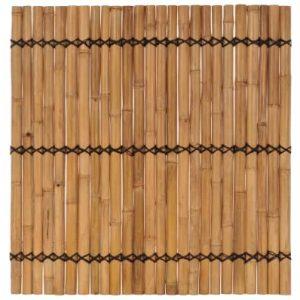 Bamboe schuttingpaneel 170x170 cm van vidaxl
