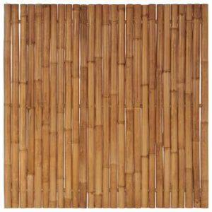 Bamboe schuttingpaneel 200x200 cm van vidaxl