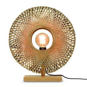 Bamboe tafellamp kalimantan van Good&Mojo