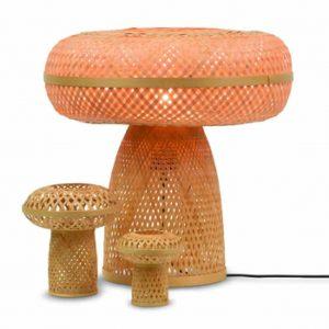 Bamboe tafellampen palawan set van 3 van Good&Mojo