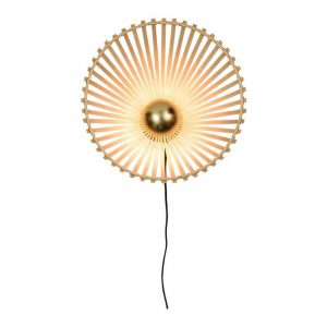 Bamboe wandlamp bromo small van Good&Mojo
