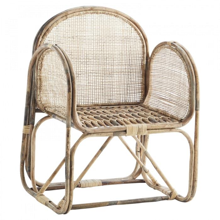 Bamboe fauteuil cane van madam stoltz