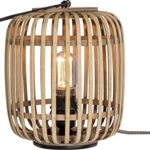 Bamboe tafellamp etnic van duverger