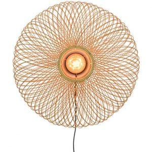 Bamboe wandlamp cango naturel van Good&Mojo