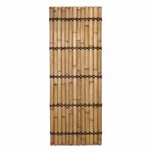 Halfrond bamboescherm 100x240 cm