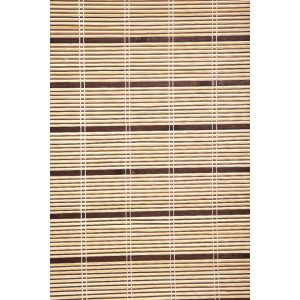 Bamboe rolgordijn jalouzie olive van intergard