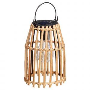 Bamboe lantaarn solat naturel van de kwantum