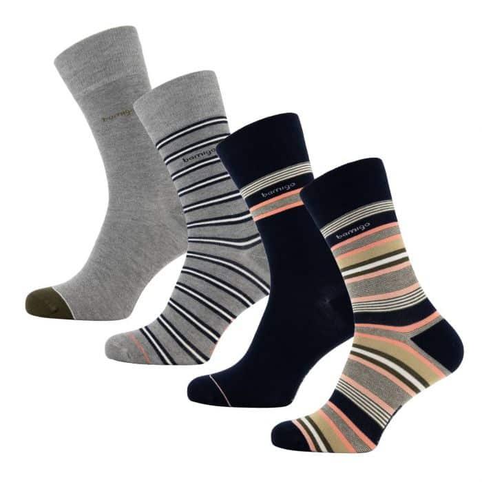 james-sokken-multistreep-roze-4-paar