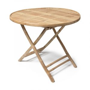 Bamboe tafel inklapbaar van de Xenos