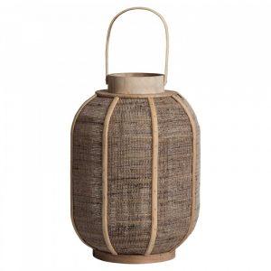 Bamboe lantaarn ghiare naturel van wantsandneeds