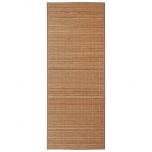 Bruin bamboe tapijt van vidaxl 160x230 cm