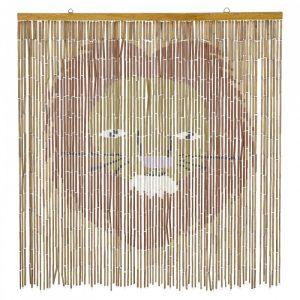 Bamboe wanddecoratie leonel bruin van Bloomingville