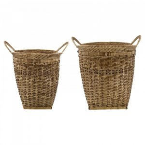 Bamboe manden set pura naturel van house doctor