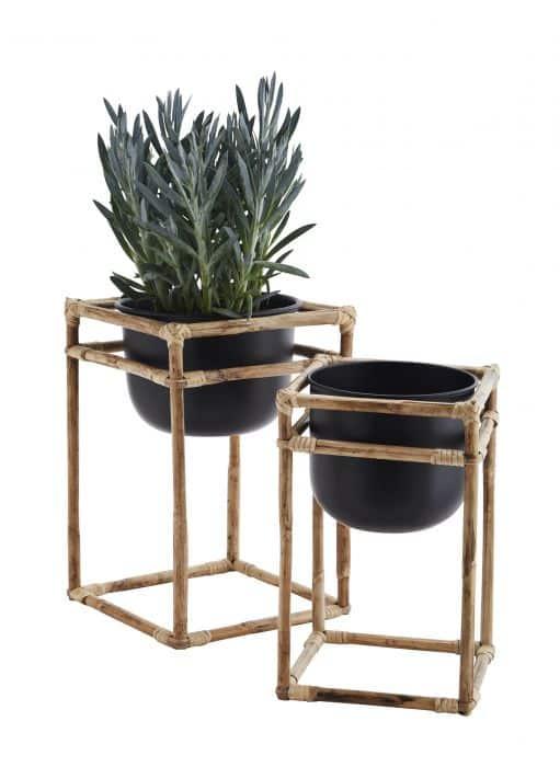 madam-stoltz-bloempot-set-van-2-bamboo