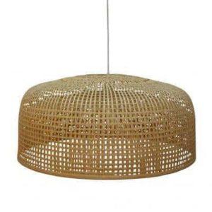 Bepurehome hanglamp bamboe bruin
