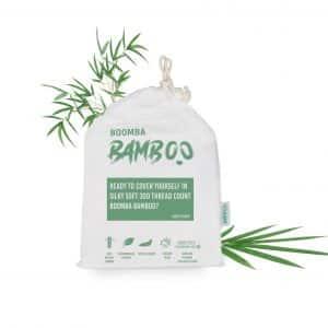 Bamboe dekbedovertrek 140x200 cm van Boomba Bamboo