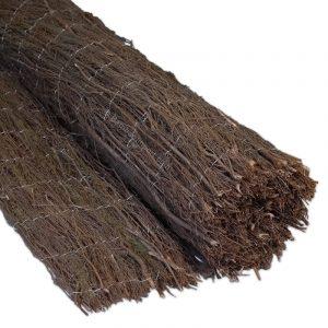 Heidematten op rol 500x150 cm van Bamboo Import